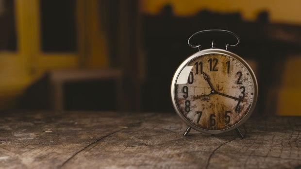 Old Face Clock